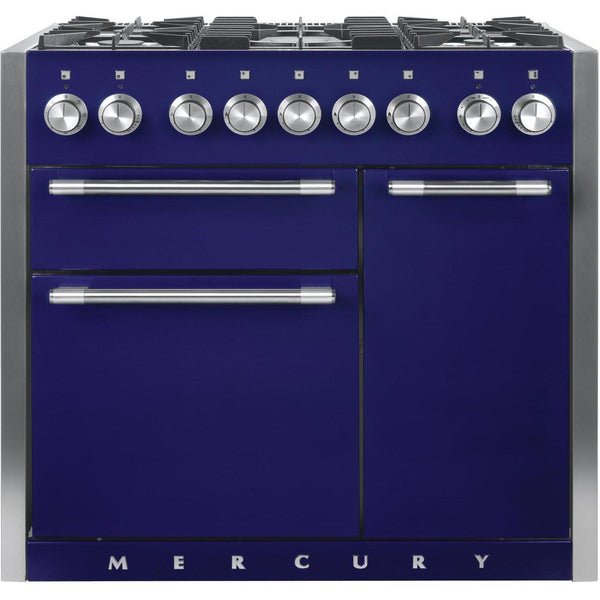Mercury MCY1000DFBB/ 1000 100cm Dual Fuel Range Cooker Blueberry-Appliance People