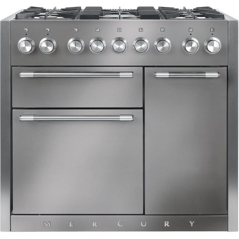 Mercury MCY1000DFSS/ 1000 100cm Dual Fuel Range Cooker Stainless Steel-Appliance People