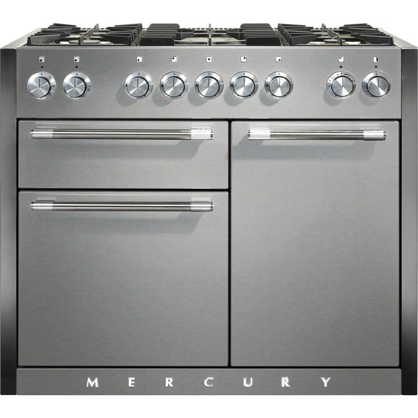 Mercury MCY1082DFSS/ 1082 110cm Dual Fuel Range Cooker Stainless Steel-Appliance People