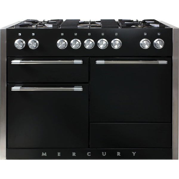 Mercury MCY1200DFLQ/ 1200 120cm Dual Fuel Range Cooker Liquorice-Appliance People