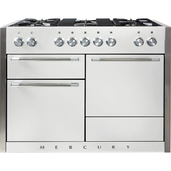 Mercury MCY1200DFSD/ 1200 120cm Dual Fuel Range Cooker Snowdrop-Appliance People