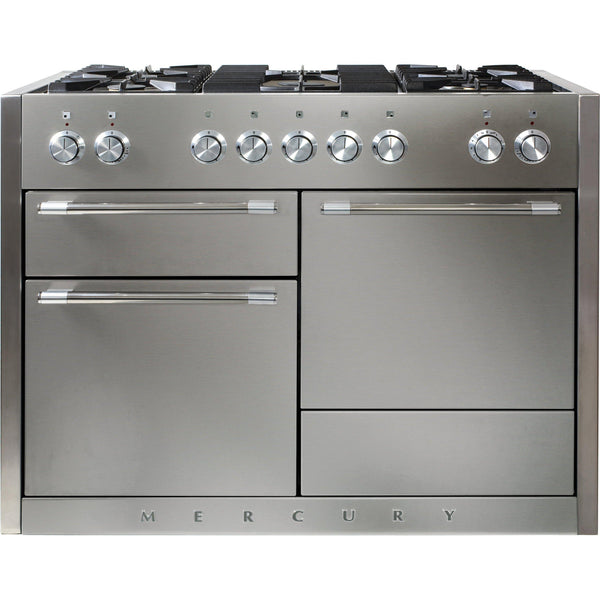 Mercury MCY1200DFSS/ 1200 120cm Dual Fuel Range Cooker Stainless Steel-Appliance People