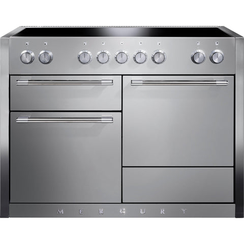 Mercury MCY1200EISS/ 1200 120cm Induction Range Cooker Stainless Steel-Appliance People