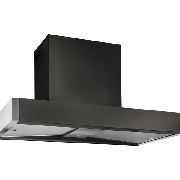 Mercury MHDSC1200AB/ 1200 Slab Chimney Hood Ash Black-Appliance People