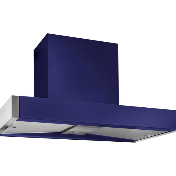 Mercury MHDSC1200BB/ 1200 Slab Chimney Hood Blueberry-Appliance People