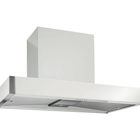 Mercury MHDSC1200SD/ 1200 Slab Chimney Hood Snowdrop-Appliance People