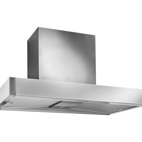 Mercury MHDSC1200SS/ 1200 Slab Chimney Hood Stainless Steel-Appliance People
