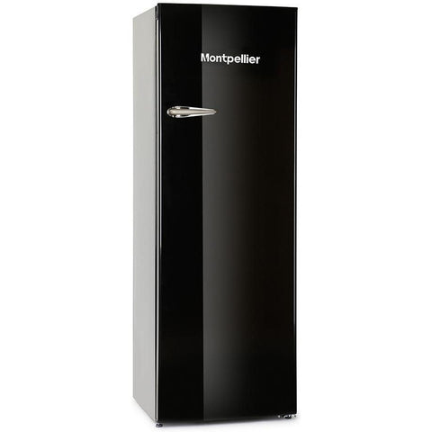 Montpellier MAB340K Retro Fridge with 4* Ice Box Black-Appliance People