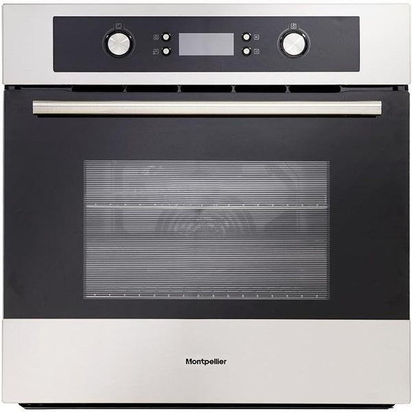 Montpellier SFO70MX Single Built-In Oven, Electric, Stainless Steel-Appliance People