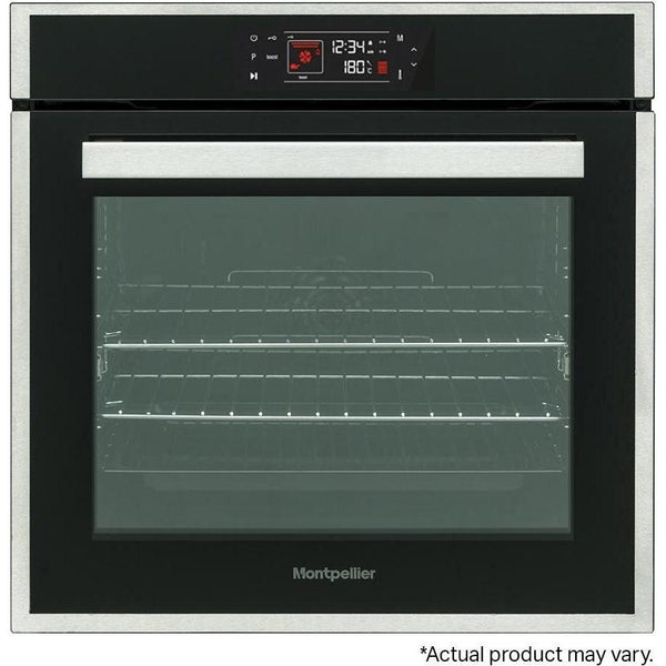 Montpellier SFPO77MBX Pyrolytic Single Oven-Appliance People