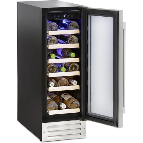 Montpellier WS19SDX 19 Bottle Wine Cooler-Appliance People