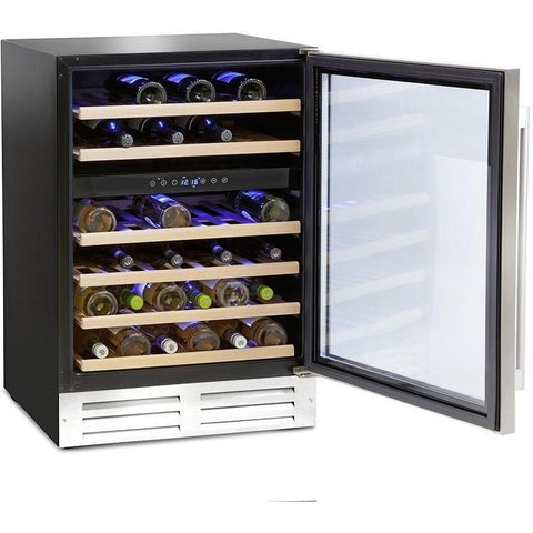 Montpellier WS46SDX 46 Bottle Wine Cooler-Appliance People