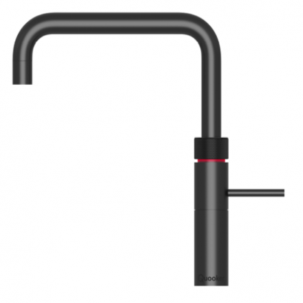 Quooker 3FSBLK PRO3 Fusion Square 3-in-1 Boiling Water Tap in Black