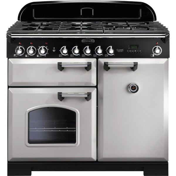 Rangemaster CDL100DFFRP Classic Deluxe 100cm Dual Fuel Range Cooker Royal Pearl-Appliance People