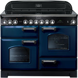 Rangemaster CDL110ECRB Classic Deluxe 110cm Ceramic Range Cooker Blue-Appliance People