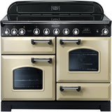 Rangemaster CDL110EICR Classic Deluxe 110cm Induction Range Cooker Cream-Appliance People