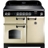 Rangemaster CLA100EICR/C Classic 100cm Induction Range Cooker Cream-Appliance People