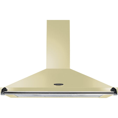 Rangemaster CLAHDC90CR/C Classic 90cm Chimney Hood Cream/chrome-Appliance People