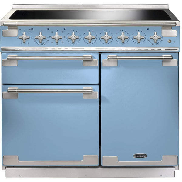 Rangemaster ELS100EICA/ Elise 100cm Induction Range Cooker China Blue-Appliance People