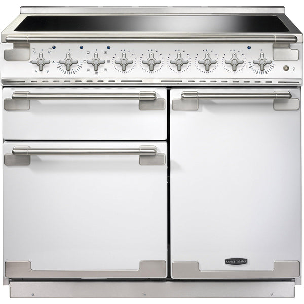 Rangemaster ELS100EIWH/ Elise 100cm Induction Range Cooker White-Appliance People