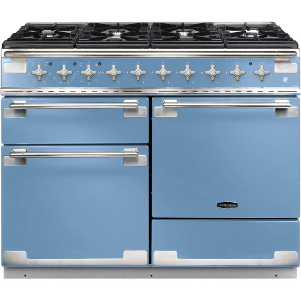 Rangemaster ELS110DFFCA/ Elise 110cm Dual Fuel Range Cooker China Blue-Appliance People