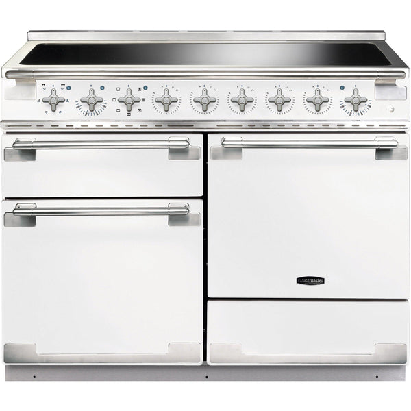 Rangemaster ELS110EIWH/ Elise 110cm Induction Range Cooker White-Appliance People