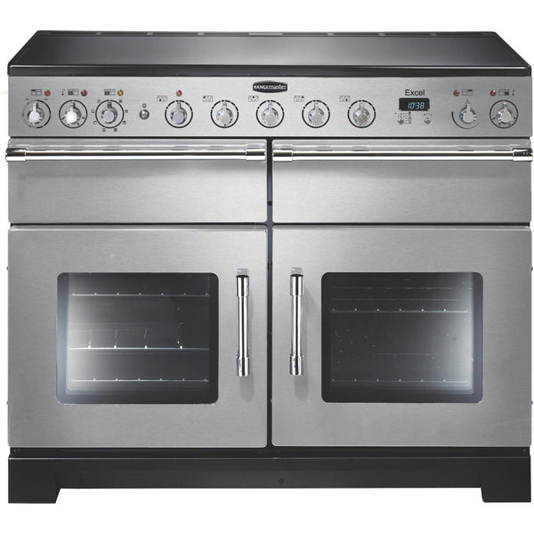 Rangemaster EXL110EISS/C Excel 110cm Induction Range Cooker Stainless Steel-Appliance People