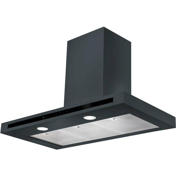 Rangemaster HLTHDS100SL/ Hi-Lite 100cm Chimney Hood Slate-Appliance People