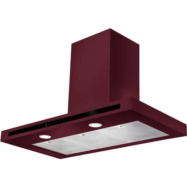 Rangemaster HLTHDS90CY/ Hi-Lite 90cm Chimney Hood Cranberry-Appliance People