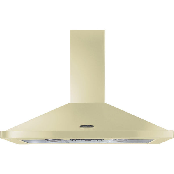 Rangemaster LEIHDC110CR/C 110cm Chimney Hood Cream/chrome-Appliance People