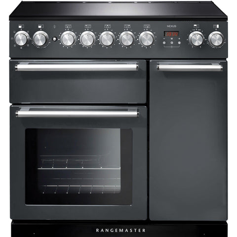 Rangemaster NEX90EISL/C Nexus 90cm Induction Range Cooker Slate-Appliance People