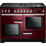 Rangemaster PDL110DFFCY/C Professional Deluxe 110cm Dual Fuel Range Cooker Cranberry 97540-Appliance People