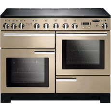 Rangemaster PDL110EICR/C Professional Deluxe 110cm Induction Range Cooker Cream-Appliance People