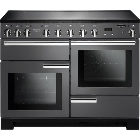 Rangemaster PDL110EISL/C Professional Deluxe 110cm Induction Range Cooker Slate-Appliance People