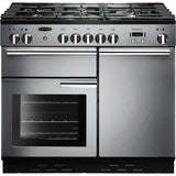 Rangemaster PROP100NGFSS/C PROFESSIONAL PLUS 100cm Gas Range Cooker Stainless Steel-Appliance People