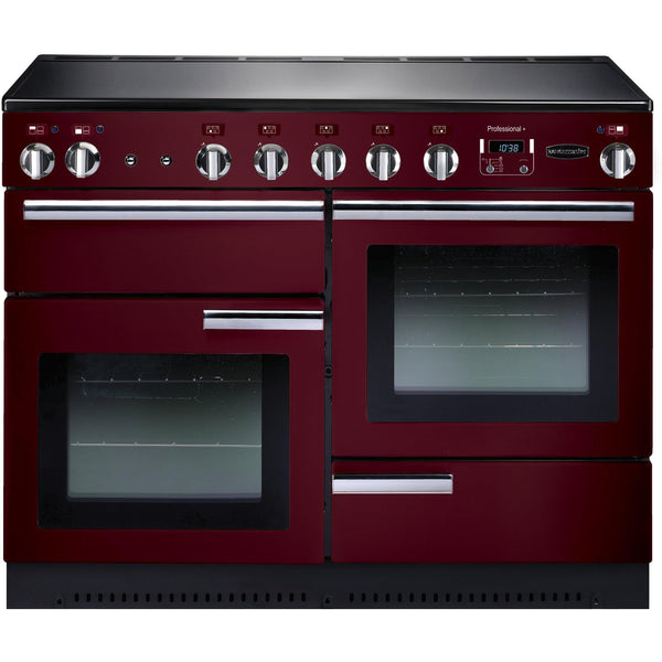 Rangemaster PROP110EICY/C Professional Plus 110cm Induction Range Cooker Cranberry-Appliance People