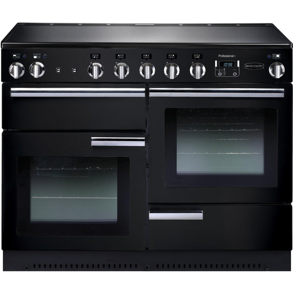 Rangemaster PROP110EIGB/C Professional Plus 110cm Induction Range Cooker Black-Appliance People