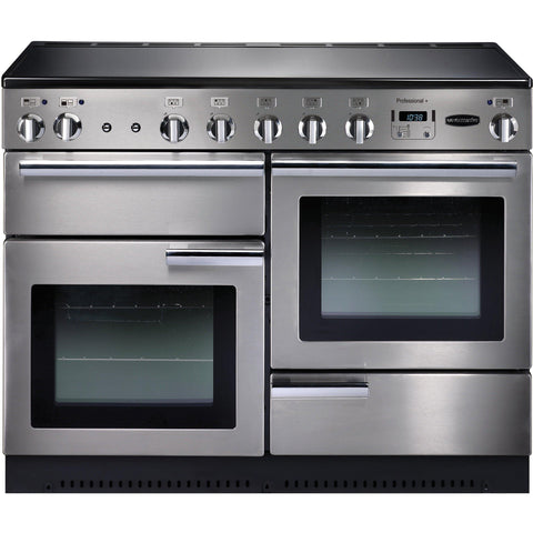 Rangemaster PROP110EISS/C Professional Plus 110cm Induction Range Cooker Stainless Steel-Appliance People