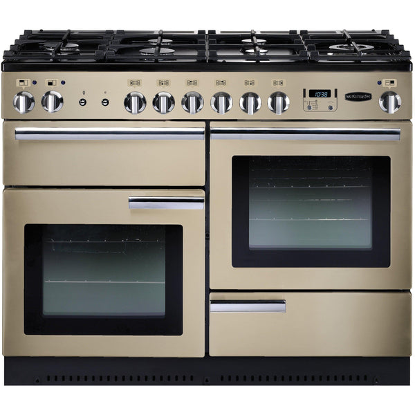 Rangemaster PROP110NGFCR/C Professional Plus 110cm Gas Range Cooker Cream-Appliance People