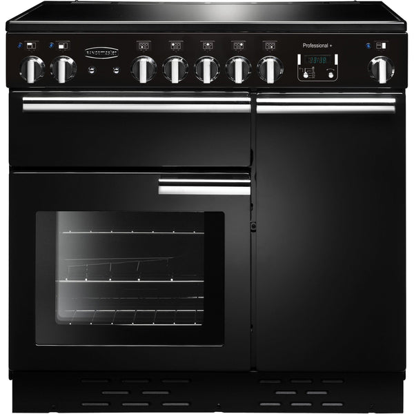 Rangemaster PROP90EIGB/C PROFESSIONAL PLUS 90cm Induction Range Cooker Black-Appliance People