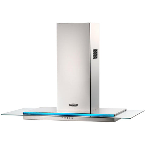 Rangemaster RMHDT110SS/ Toledo 110cm Chimney Hood Stainless Steel/Glass-Appliance People