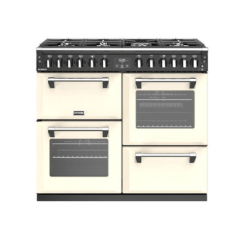 Stoves RICHMOND S1000DF 100CM DUAL FUEL IN CREAM-Appliance People