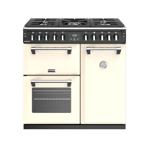 Stoves RICHMOND S900DF 90CM DUAL FUEL IN CREAM-Appliance People