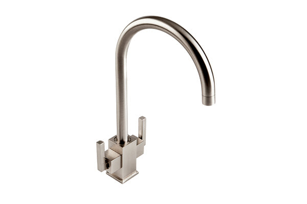 The 1810 Company RUSCELLO SQUARE BODY Tap Brushed Steel-Appliance People