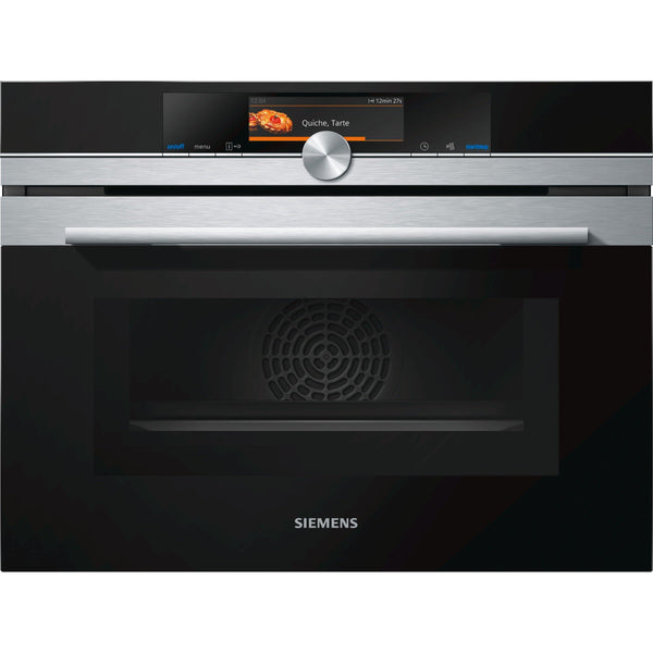 Siemens CM678G4S6B Built-in Combination Oven Stainless Steel-Appliance People