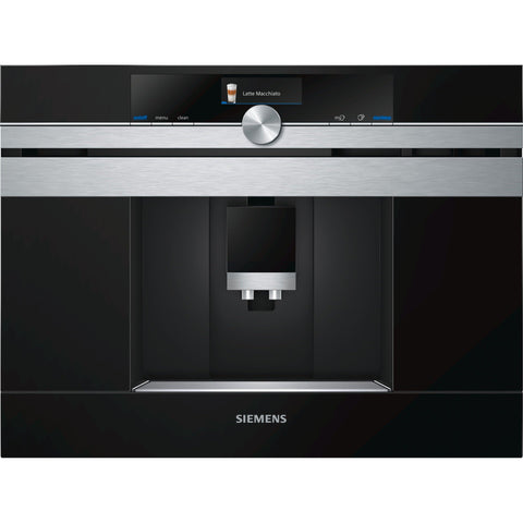 Siemens CT636LES6 Built-in Coffee Machine Stainless Steel-Appliance People
