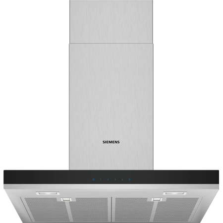 Siemens iQ300 LC67BHM50B Box design Chimney hood Stainless Steel 65cm-Appliance People