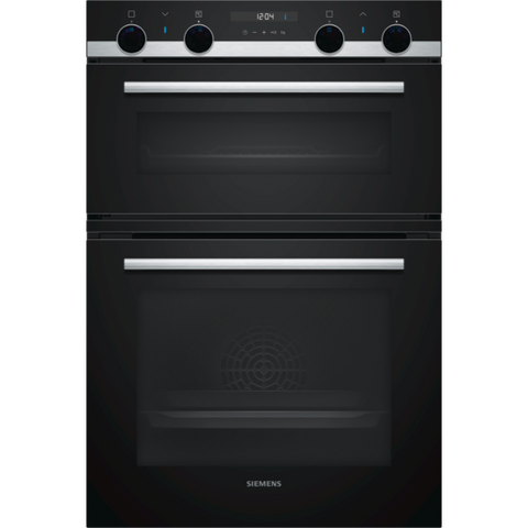 Siemens iQ500 MB557G5S0B Built-in Double Oven Black-Appliance People