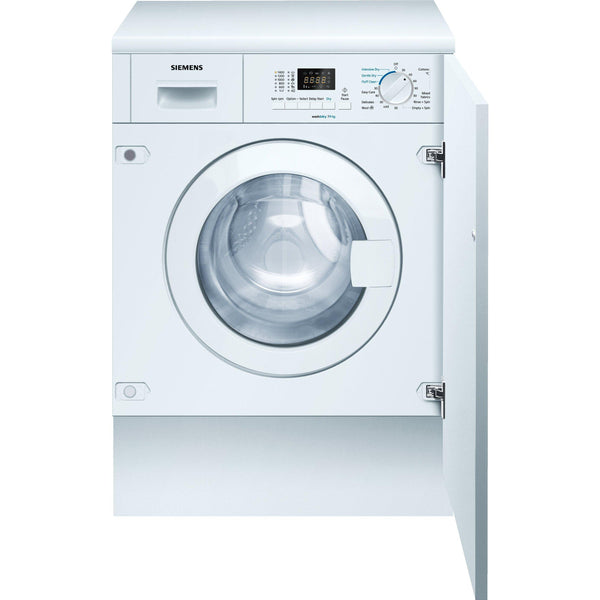 Siemens WK14D321GB Integrated Washer Dryer White-Appliance People