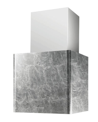 Faber Lithos Silver Leaf A45 Chimney Hood * * ONE ONLY TO CLEAR AT THIS PRICE * *